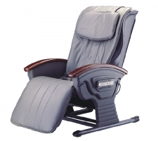 Refined & Chic Massage Chair (PVC Leather, Gray)
